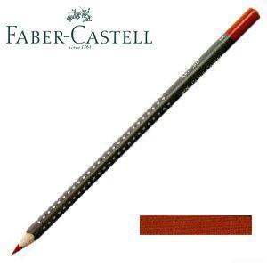 ファーバーカステル アートグリップ 油性色鉛筆 単色 (インディアンレッド) 12本セット No. 114392|nomado1230