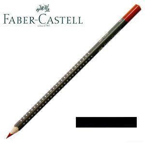 ファーバーカステル アートグリップ 油性色鉛筆 単色 (ブラック) 12本セット No. 114399|nomado1230