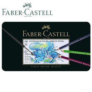 ファーバーカステル アルブレヒトデューラーシリーズ 水彩色鉛筆 120色 No. 117511|nomado1230