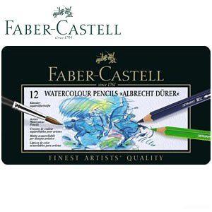 ファーバーカステル アルブレヒトデューラーシリーズ 水彩色鉛筆 12色 No. 117512|nomado1230