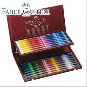 ファーバーカステル アルブレヒトデューラーシリーズ 水彩色鉛筆 120色木箱入りセット No. 117513|nomado1230