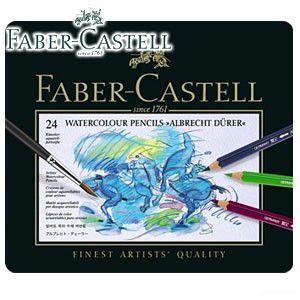 ファーバーカステル アルブレヒトデューラーシリーズ 水彩色鉛筆 24色 No. 117524|nomado1230