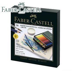 ファーバーカステル アルブレヒトデューラーシリーズ 水彩色鉛筆 36色+筆1本・スタジオBOX No. 117538|nomado1230