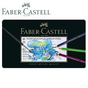 ファーバーカステル アルブレヒトデューラーシリーズ 水彩色鉛筆 60色 No. 117560|nomado1230