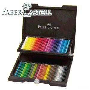 ファーバーカステル アルブレヒトデューラーシリーズ 水彩色鉛筆 72色木箱入りセット No. 117572|nomado1230