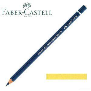 ファーバーカステル アルブレヒトデューラー 水彩色鉛筆 単色 (ライトクロームイエロー) 12本セット No. 117606|nomado1230