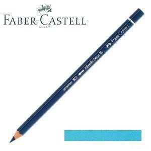 ファーバーカステル アルブレヒトデューラー 水彩色鉛筆 単色 (ライトフタロブルー) 12本セット No. 117645|nomado1230