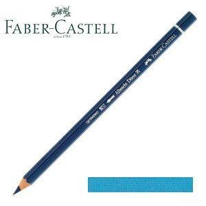 ファーバーカステル アルブレヒトデューラー 水彩色鉛筆 単色 (ミドルフタロブルー) 12本セット No. 117652|nomado1230