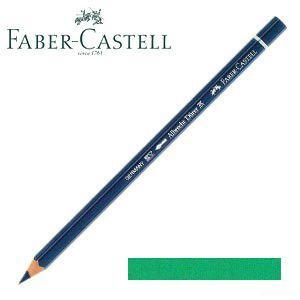 ファーバーカステル アルブレヒトデューラー 水彩色鉛筆 単色 (フタログリーン) 12本セット No. 117661|nomado1230