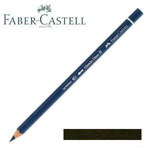 ファーバーカステル アルブレヒトデューラー 水彩色鉛筆 単色 (ダークセピア) 12本セット No. 117675 nomado1230