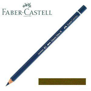 ファーバーカステル アルブレヒトデューラー 水彩色鉛筆 単色 (ヴァンダイクブラウン) 12本セット No. 117676 nomado1230