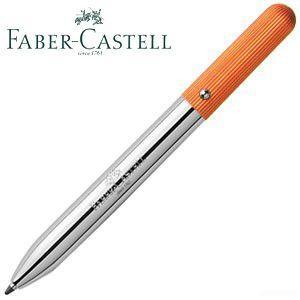 ファーバーカステル デザインシリーズ ポケットペン ボールペン オレンジ No. 148092|nomado1230