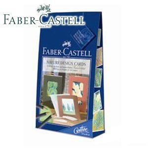 ファーバーカステル インスピレーションセットシリーズ ネイチャーカード 水彩色鉛筆 No. 181032|nomado1230