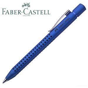 ファーバーカステル グリップ2011 メタリックブルー 5本セット ボールペン No. 244102|nomado1230