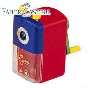 ファーバーカステル カラフルシリーズ スタンダード 鉛筆削り (レッド) TFC-182821|nomado1230