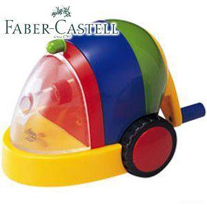 ファーバーカステル カラフルシリーズ カースタイル カラフル鉛筆削り (イエロー) TFC-PS1|nomado1230