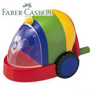 ファーバーカステル カラフルシリーズ カースタイル カラフル鉛筆削り (レッド) TFC-PS2|nomado1230