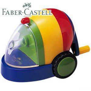 ファーバーカステル カラフルシリーズ カースタイル カラフル鉛筆削り (ブルー) TFC-PS3|nomado1230