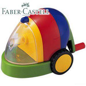 ファーバーカステル カラフルシリーズ カースタイル カラフル鉛筆削り (グリーン) TFC-PS4|nomado1230