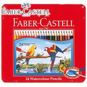 ファーバーカステル SYACHIシリーズ 水彩色鉛筆 24色セット TFC-WCP/24C|nomado1230