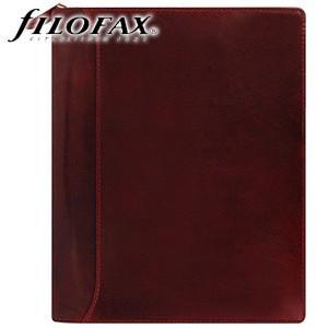 システム手帳 A5 革 ファイロファクス 名入れ無料 ロックウッド A5ジップ システム手帳 ワイン No. 021691|nomado1230