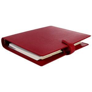 システム手帳 A5 革 ファイロファクス 名入れ無料 フィンスバリー A5 システム手帳 チェリー No. 022498|nomado1230|02