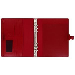 システム手帳 A5 革 ファイロファクス 名入れ無料 フィンスバリー A5 システム手帳 チェリー No. 022498|nomado1230|03