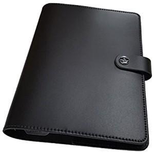 システム手帳 A5 革 ファイロファクス 名入れ無料 オリジナル 日本限定モデル A5 システム手帳 マットブラック No. 022509|nomado1230|02