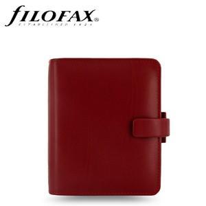 システム手帳 ポケットサイズ ファイロファクス メトロポール ポケット スモール システム手帳 レッド No. 026962|nomado1230