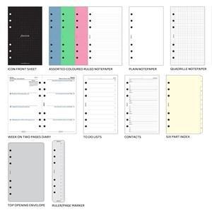 システム手帳 バイブル ファイロファクス メトロポール パーソナル バイブルジップ システム手帳 ネイビー No. 026982|nomado1230|04