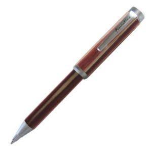 高級 ボールペン 名入れ フィオレンティーナ テレスコープ ピンクウッド ボールペン 2本セット B8N-34|nomado1230