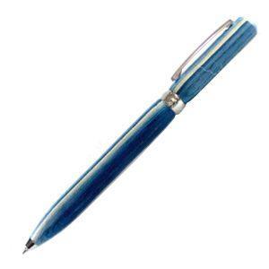 高級 ボールペン 名入れ フィオレンティーナ ルーチェ スカイウッド ボールペン 2本セット BD07-20|nomado1230