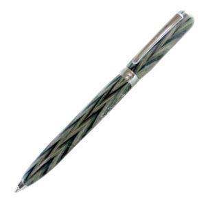 高級 ボールペン 名入れ フィオレンティーナ ルーチェ サバンナウッド ボールペン 2本セット BD07-25|nomado1230