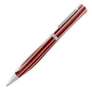 高級 ボールペン 名入れ フィオレンティーナ パラチオ ピンクウッド ボールペン 2本セット BPL-24|nomado1230