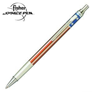 高級 ボールペン 名入れ フィッシャー キャップアクション ボールペン アメリカンフラッグ AFP-5|nomado1230