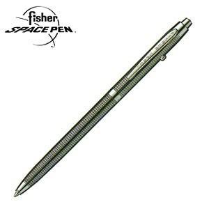 高級 ボールペン 名入れ フィッシャー アストロノート ボールペン 黒格子 B-4|nomado1230