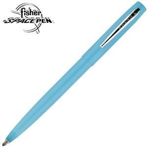 高級 ボールペン 名入れ フィッシャー キャップアクション M4シリーズ スペースペン ブルー M4BLCT|nomado1230
