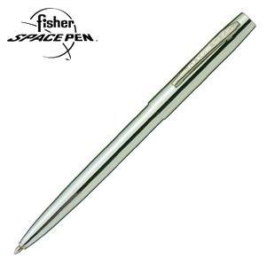 高級 ボールペン 名入れ フィッシャー キャップアクション クローム ボールペン シルバー M-4C|nomado1230