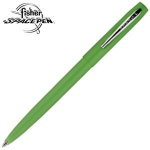 高級 ボールペン 名入れ フィッシャー キャップアクション M4シリーズ スペースペン グリーン M4GRCT|nomado1230