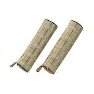 ペンケース プラチナ万年筆 アフェクション 布製 ペンケース型 ペンケース エンジ HVMS-2000Rcl70|nomado1230
