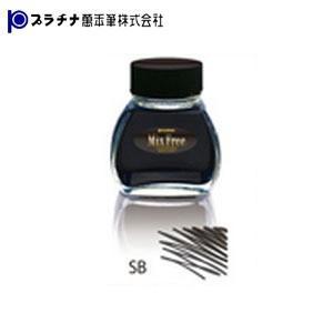 プラチナ万年筆 ミックスフリー 水性染料インク 同色5個セット INKM-1200-|nomado1230