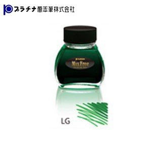 プラチナ万年筆 ミックスフリー 水性染料インク 3個セット リーフグリーン INKM1200LG|nomado1230