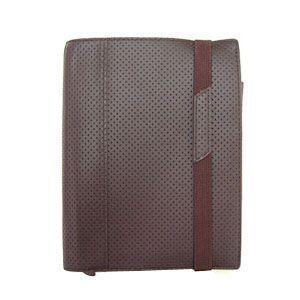 ブリットハウス THEME ディンプルレザーコレクション A6サイズ 手帳カバー ダークブラウン DTH-1110DB|nomado1230
