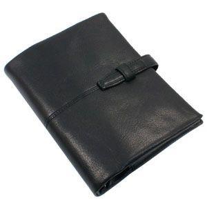 システム手帳 バイブル 革 ブリットハウス トスタシリーズ バイブル ブラック システム手帳 TG-1025BK|nomado1230