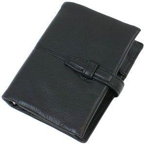 システム手帳 ミニ6 革 ブリットハウス トスタシリーズ ミニサイズ ブラック システム手帳 TG-2013BK|nomado1230