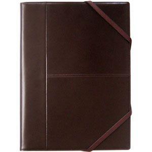 ブリットハウス THEME A4サイズ 多機能ジャケット ダークブラウン 手帳カバー TH-1112DB|nomado1230