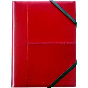 ブリットハウス THEME A4サイズ 多機能ジャケット レッド 手帳カバー TH-1112RD|nomado1230