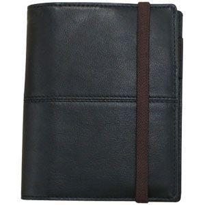 手帳カバー A6 革 ブリットハウス トスタテーマ THEME ブラック A6サイズ 手帳 TTH1110BK|nomado1230
