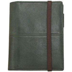 手帳カバー A6 革 ブリットハウス THEME トスタレザーコレクション A6サイズ カーキ 手帳カバー TTH-1110KK|nomado1230