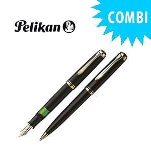 ペリカン スペシャルコンビセット スーベレーン 600シリーズ 万年筆&ボールペン クリーニングクロス付き クロ M600 BKCOMBISET|nomado1230